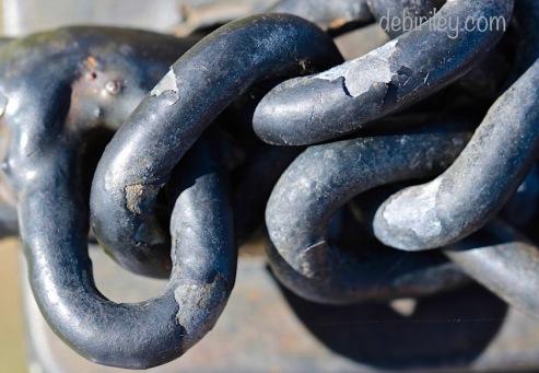 chains across doors, debiriley.com