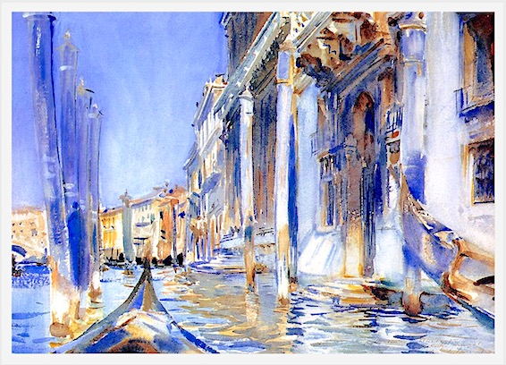 watercolor doorways, john singer sargent, door symbolism, doors in art, debiriley.com