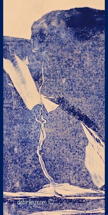 Landscape in Blue