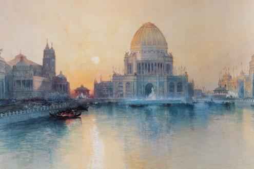 Moran watercolors, Venice building and doors,