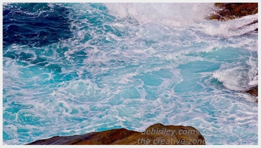 sea foam turquoise photograph, water photo, debiriley.com