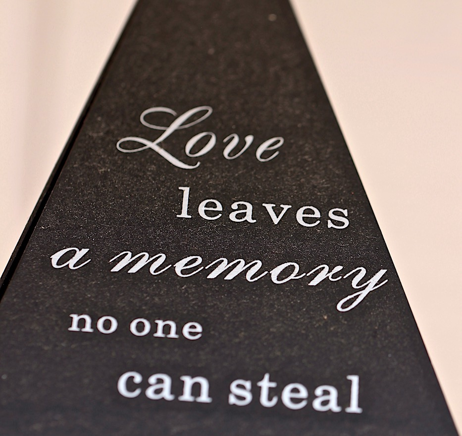 love quote, memory of love, debiriley.com